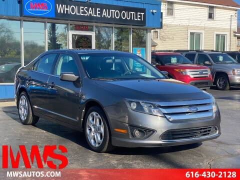 2010 Ford Fusion for sale at MWS Wholesale  Auto Outlet in Grand Rapids MI