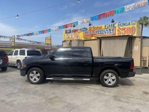 2012 RAM Ram Pickup 1500 for sale at DEL CORONADO MOTORS in Phoenix AZ