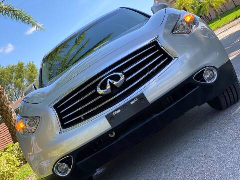2014 Infiniti QX70 for sale at HIGH PERFORMANCE MOTORS in Hollywood FL