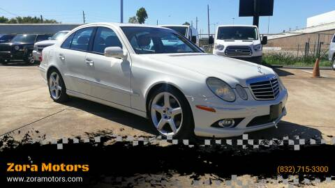 2009 Mercedes-Benz E-Class for sale at Zora Motors in Houston TX