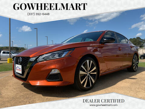 2019 Nissan Altima for sale at GOWHEELMART in Leesville LA