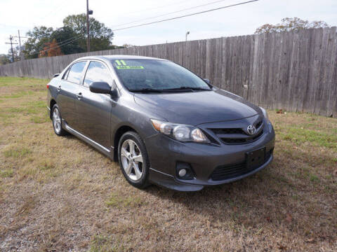 2011 Toyota Corolla for sale at BLUE RIBBON MOTORS in Baton Rouge LA