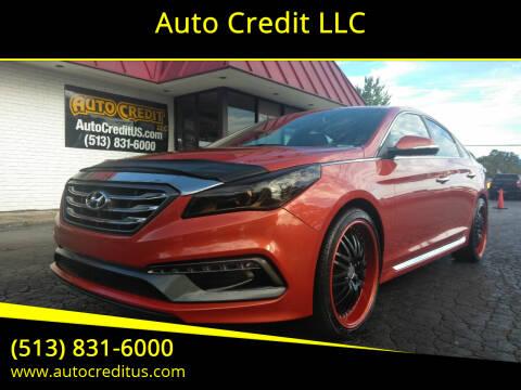 2015 Hyundai Sonata for sale at Auto Credit LLC in Milford OH