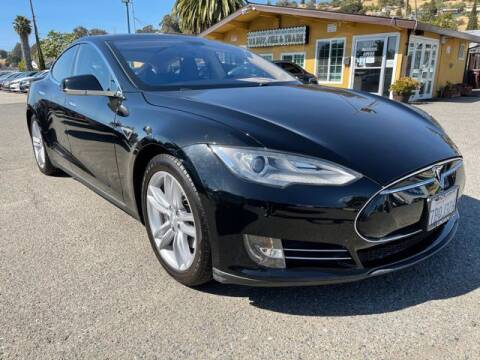 2013 Tesla Model S for sale at MISSION AUTOS in Hayward CA
