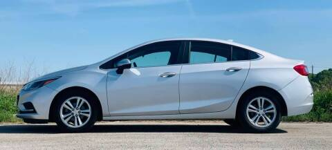 2018 Chevrolet Cruze for sale at Palmer Auto Sales in Rosenberg TX