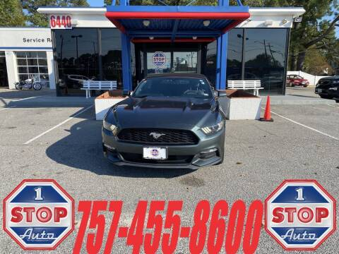 2016 Ford Mustang for sale at 1 Stop Auto in Norfolk VA
