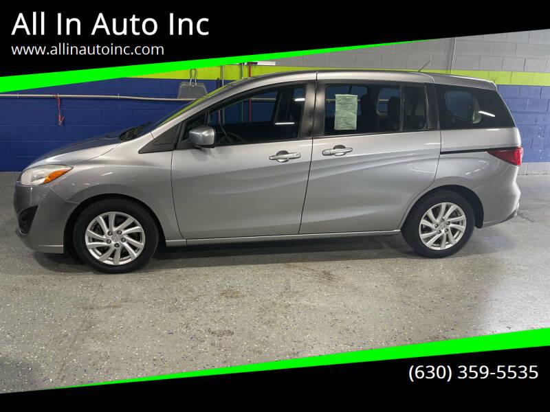 2012 Mazda MAZDA5 for sale at All In Auto Inc in Addison IL