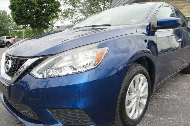 2019 Nissan Sentra for sale at Eddie Auto Brokers in Willowick OH