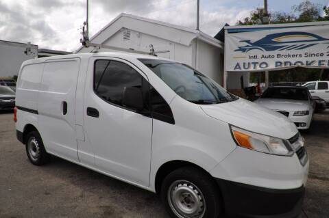 2015 Chevrolet City Express Cargo for sale at INTERNATIONAL AUTO BROKERS INC in Hollywood FL