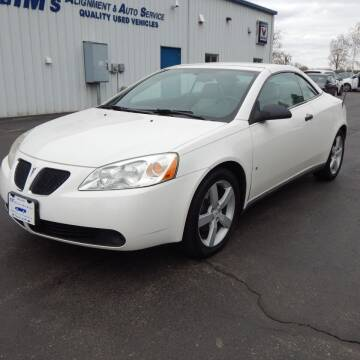 2007 Pontiac G6 for sale at TIM'S ALIGNMENT & AUTO SVC in Fond Du Lac WI