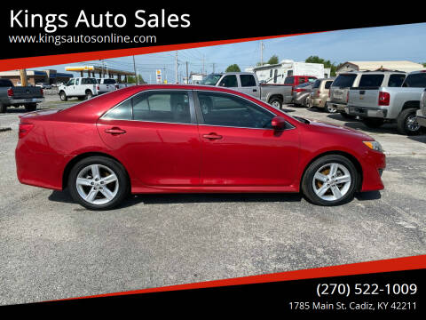 2013 Toyota Camry for sale at Kings Auto Sales in Cadiz KY
