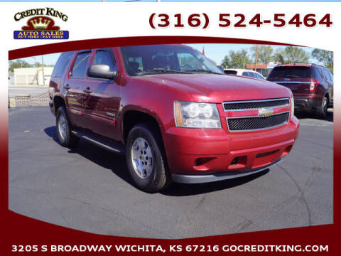 2010 Chevrolet Tahoe for sale at Credit King Auto Sales in Wichita KS