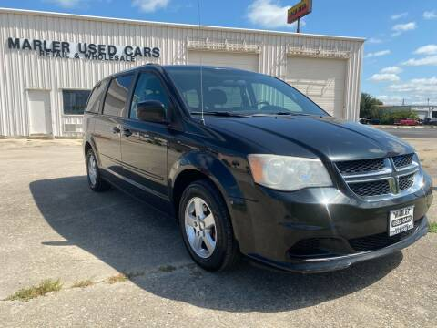 2012 Dodge Grand Caravan for sale at MARLER USED CARS in Gainesville TX