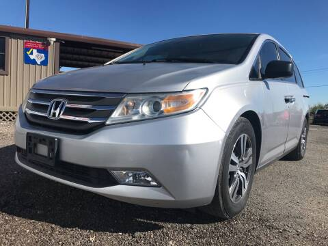 2013 Honda Odyssey for sale at Texas Country Auto Sales LLC in Austin TX