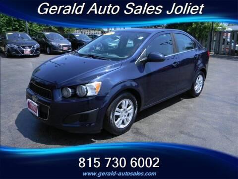 2015 Chevrolet Sonic for sale at Gerald Auto Sales in Joliet IL