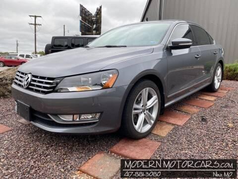 2014 Volkswagen Passat for sale at Modern Motorcars in Nixa MO