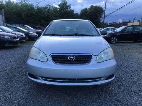 2008 Toyota Corolla for sale at A & B Auto Finance Company in Alexandria VA