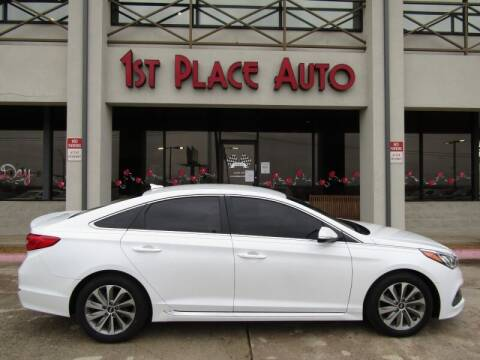 2016 Hyundai Sonata for sale at First Place Auto Ctr Inc in Watauga TX