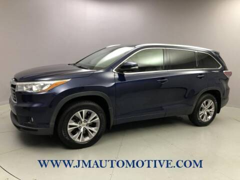 2015 Toyota Highlander for sale at J & M Automotive in Naugatuck CT