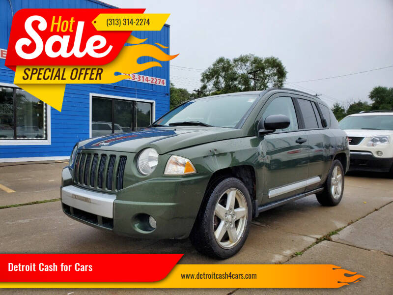 2008 Jeep Compass for sale at Detroit Cash for Cars in Warren MI