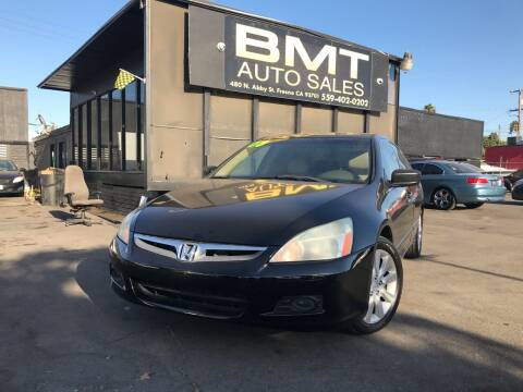 2006 Honda Accord for sale at BMT Auto Sales in Fresno nul
