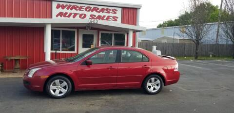2007 Ford Fusion for sale at WIREGRASS AUTO SALES in Dothan AL