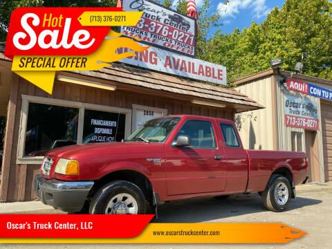 2002 Ford Ranger for sale at Oscar's Truck Center, LLC in Houston TX