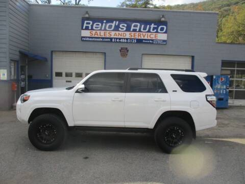 2017 Toyota 4Runner for sale at Reid's Auto Sales & Service in Emporium PA