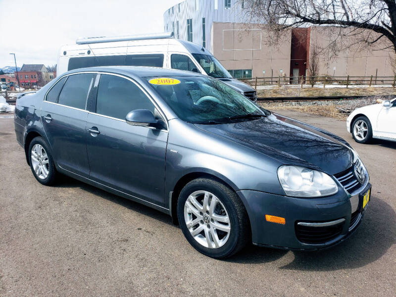 2007 Volkswagen Jetta for sale at J & M PRECISION AUTOMOTIVE, INC in Fort Collins CO