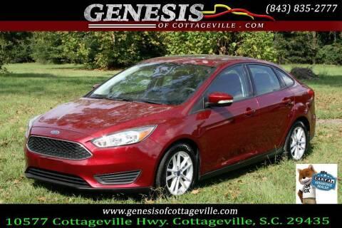 2015 Ford Focus for sale at Genesis Of Cottageville in Cottageville SC