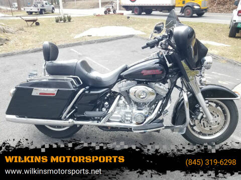 2007 Harley-Davidson Electra Glide for sale at WILKINS MOTORSPORTS in Brewster NY