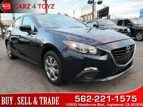 2015 Mazda MAZDA3 for sale at Carz 4 Toyz in Inglewood CA