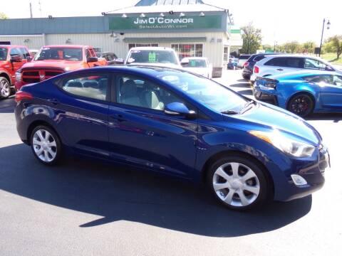 2013 Hyundai Elantra for sale at Jim O'Connor Select Auto in Oconomowoc WI