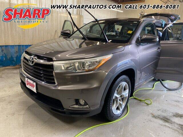 2014 Toyota Highlander for sale at Sharp Automotive in Watertown SD