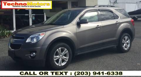 2012 Chevrolet Equinox for sale at Techno Motors in Danbury CT