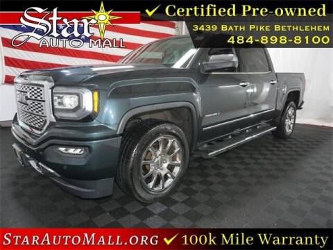 2017 GMC Sierra 1500 for sale at STAR AUTO MALL 512 in Bethlehem PA