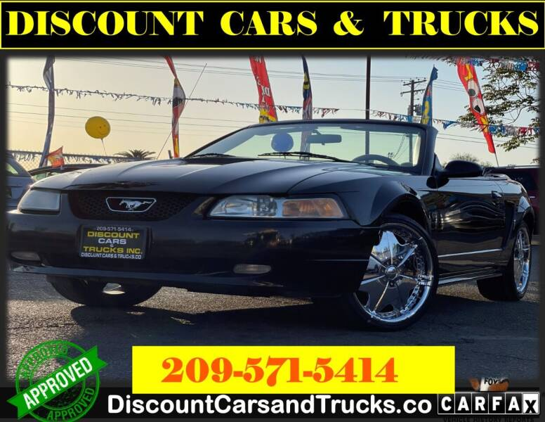2000 Ford Mustang for sale at Discount Cars & Trucks in Modesto CA