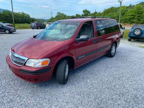 2005 Chevrolet Venture for sale at Bailey's Auto Sales in Cloverdale VA