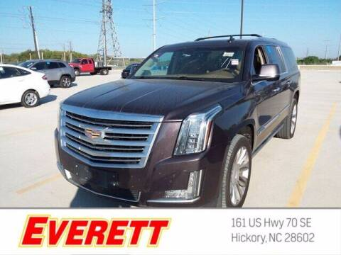 2015 Cadillac Escalade ESV for sale at Everett Chevrolet Buick GMC in Hickory NC