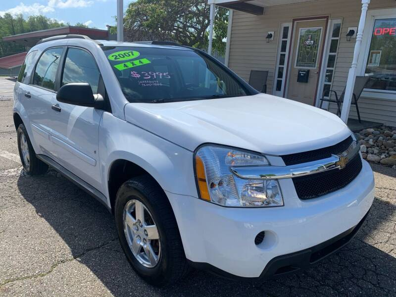 2007 Chevrolet Equinox for sale at G & G Auto Sales in Steubenville OH