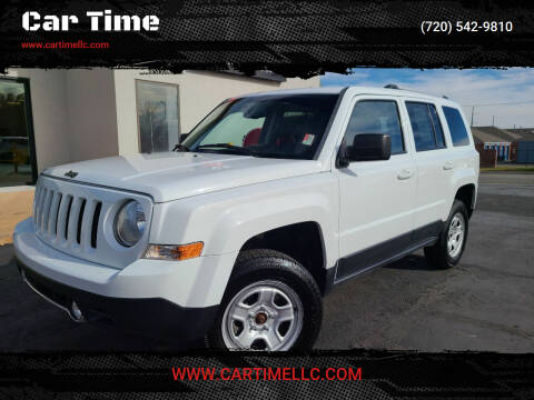 2016 Jeep Patriot for sale at Car Time in Denver CO