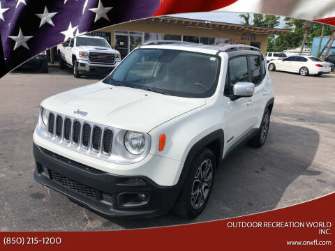 2016 Jeep Renegade for sale at Outdoor Recreation World Inc. in Panama City FL