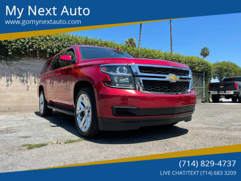 2015 Chevrolet Suburban for sale at My Next Auto in Anaheim CA