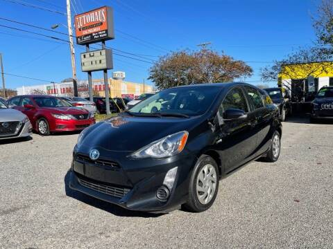 2015 Toyota Prius c for sale at Autohaus of Greensboro in Greensboro NC