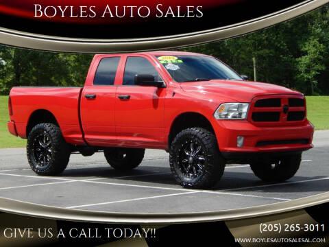 2014 RAM Ram Pickup 1500 for sale at Boyles Auto Sales in Jasper AL