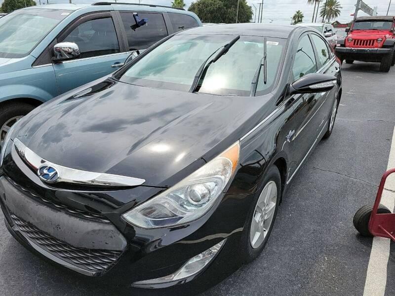2012 Hyundai Sonata Hybrid for sale at Top Garage Commercial LLC in Ocoee FL