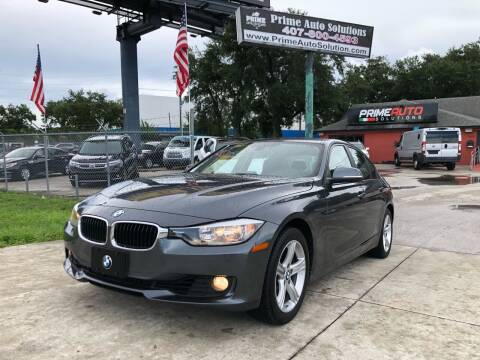 2014 BMW 3 Series for sale at Prime Auto Solutions in Orlando FL