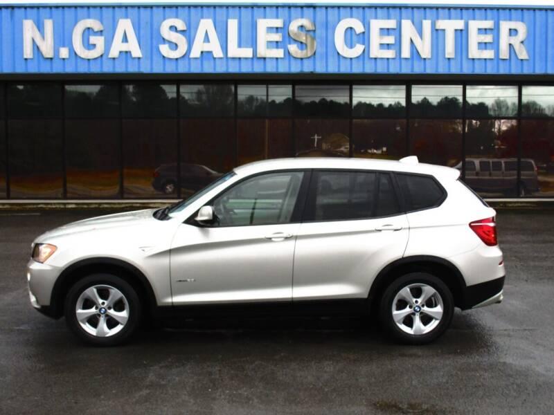 2012 BMW X3 for sale at NORTH GEORGIA Sales Center in La Fayette GA