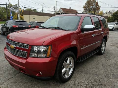 2012 Chevrolet Tahoe for sale at Richland Motors in Cleveland OH