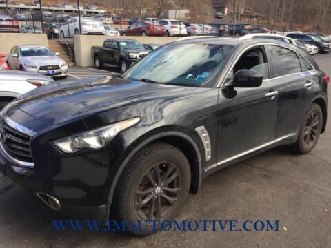 2012 Infiniti FX35 for sale at J & M Automotive in Naugatuck CT